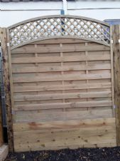 NEW IN : Clifton Fence Panel 1.2m x 1.8m